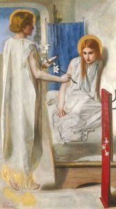 Ecce Ancilla Domini! - Dante Gabriel Rossetti