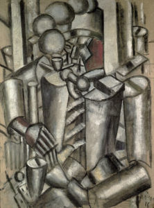 Fernand Léger - Le Soldat à la Pipe (1916)