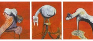 Francis Bacon - Three Studies for Figures at the Base of a Crucifixion (1944)