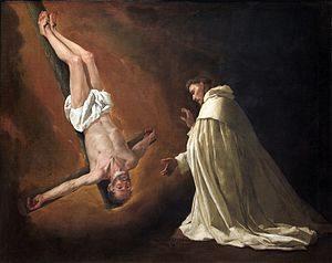 Francisco de Zurbarán - Aparición de San Pedro a San Pedro Nolasco (1629)