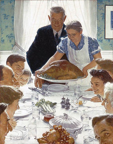 Freedom from Want (1943) – Norman Rockwell
