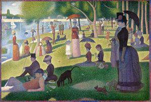 Georges Seurat - Dimanche d'été à la Grande Jatte