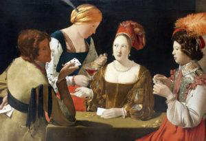 Georges de la Tour - De valsspeler