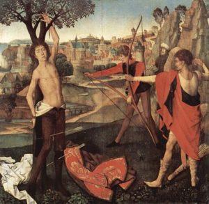 Hans Memling - Sint Sebastiaan (ca. 1470)