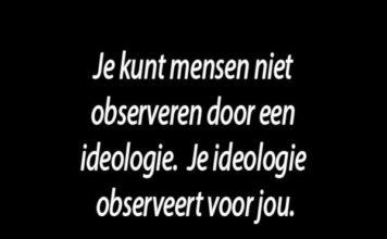 Ideologie zorgt voor eigen feiten en ruzie