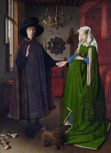 Jan van Eyck - Portret van Giovanni Arnolfini en zijn vrouw (1434)
