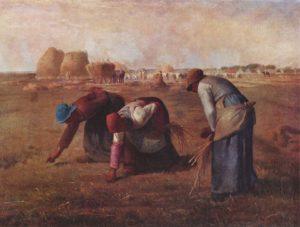 Jean-François Millet- Arenleessters (1857)