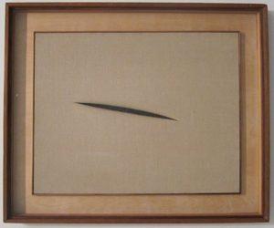Lucio Fontana - Concetto spaziale (1960)