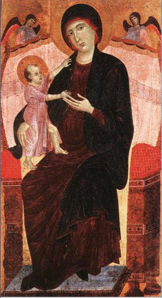 Duccio di Buoninsegna - Madonna Gualino