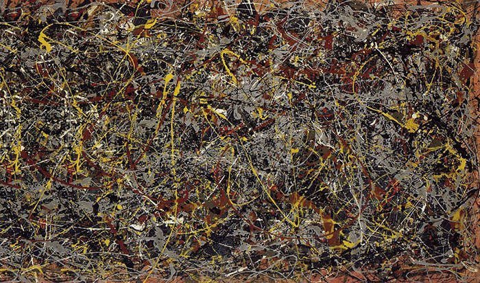 Jackson Pollock - Number 5 (1948)
