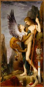 Oedipus en de Sfinx - Gustave Moreau