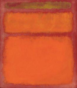 Mark Rothko - Orange, Red, Yellow (1961)