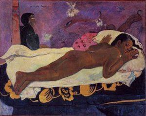 Paul Gauguin - Manao tupapau, de geest van de doden kijkt toe