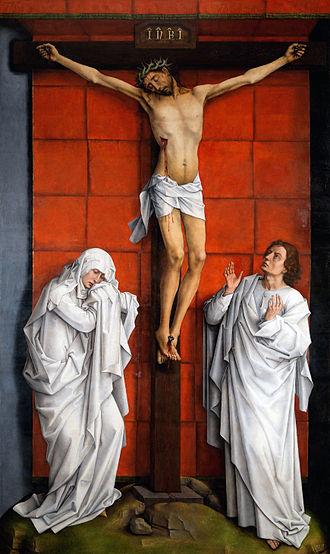 Rogier van der Weyden - Kruisiging van Scheut