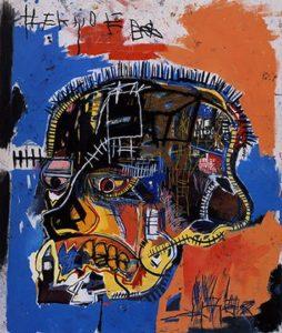 Jean-Michel Basquiat - Scull (1981)