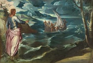 Tintoretto - Christus bij het Meer van Galilea (1575-80)