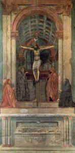 Tommaso Masaccio - De Heilige Drie-eenheid (1425)