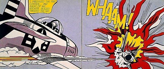 Roy Lichtenstein - Whaam! (1963)