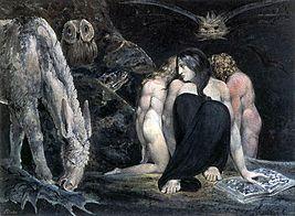 William Blake - De nacht van Enitharmons vreugde