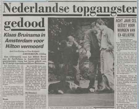 Klaas Bruinsma vermoord - Bron: Telegraaf, 28 juni 1991