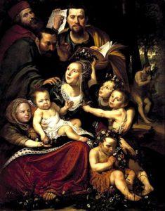 Werner van den Valckert -Caritas, linksboven Van den Valckert