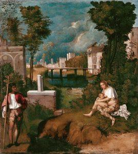 Giorgione - De storm