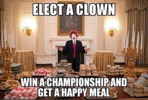 Donald Trump - Clown