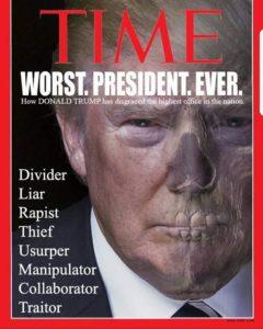Donald Trump - Slechte president