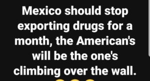 Donald Trump - The Wall, Mexico & drugs
