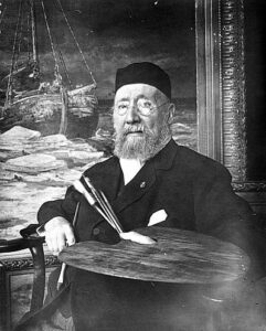 Hendrik Willem Mesdag in 1913