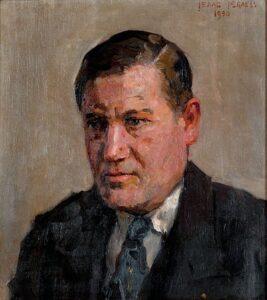 Isaac Israëls, Portret van Jan Wils, 1930, olieverf op doek, coll. Het Nieuwe Instituut Rotterdam