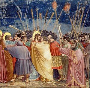 Giotto di Bondone - Kus van Judas (1306)