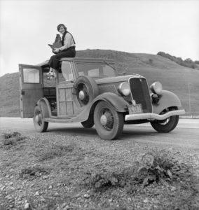 Lange in 1936