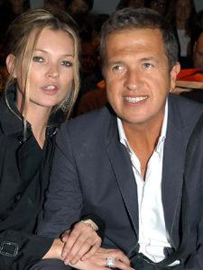 Mario Testino naast Kate Moss (2007)