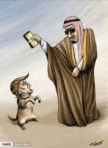 Donald Trump - Saoedi-Arabië