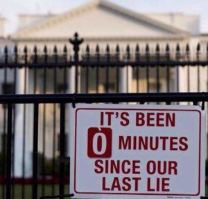 Trump en Liegen