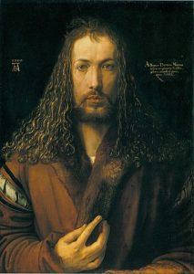 Albrecht Dürer - Zelfportret op 28-jarige leeftijd (1500)