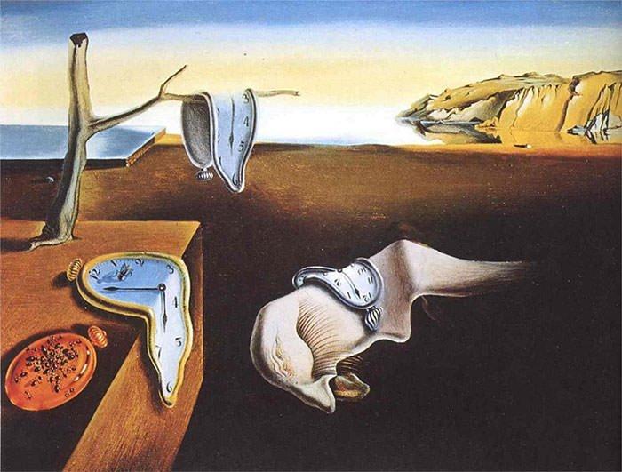 De volharding der herinnering - Salvador Dali