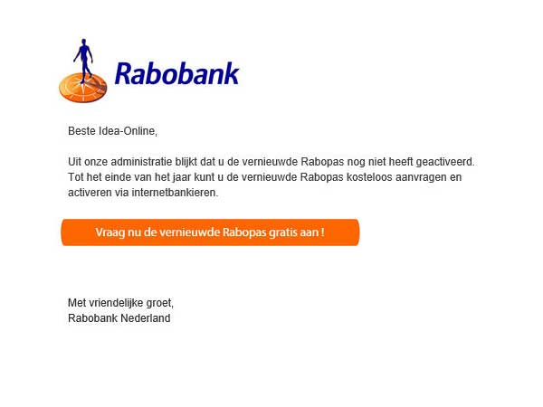 Laatste trends in phishing-mail