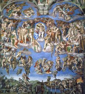 Michelangelo - Het laatste oordeel