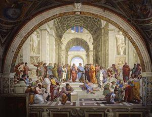 Beroemdste schilderijen uit de renaissance - Rafaël - De school van Athene