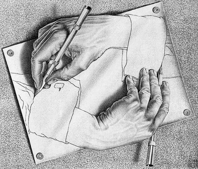 Tekenende Handen - M.C. Escher