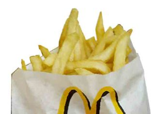 Wat zijn de ingrediënten van de friet van McDonald's