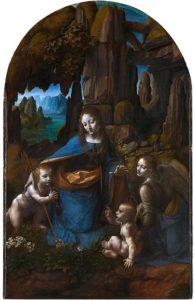De Maagd op de Rotsen of Madonna in de Grot - Leonardo da Vinci