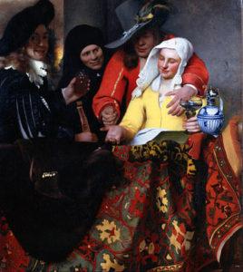 De koppelaarster - Johannes Vermeer