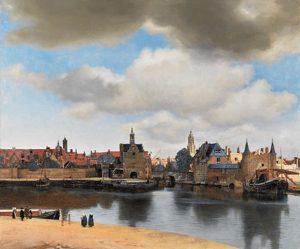 Gezicht op Delft (1660 – 1663) - Johannes Vermeer