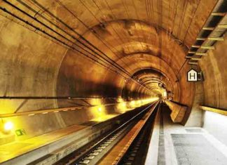 Langste tunnels ter wereld - de top 10
