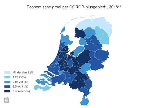 Grootste economische groei 2018 in Zuid-West Friesland