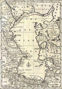 Kaspische Zee 1747