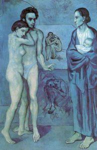 Pablo Picasso - La Vie (1903)